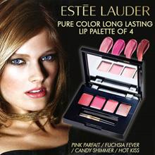 ESTEE LAUDER Pure Color long lasting lipstick 4 color palette