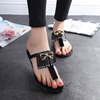 ae3e3d7493d0b1 images  7 store Flip Flops Women Sandals Slippers Summer Slides Butterfly  Knot Beach Shoes female Fringe Ladie