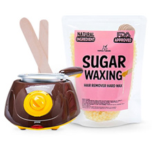 ❤ PREMIUM QUALITY SUGAR WAXING HOME KIT❤ HAIR REMOVER HARD WAX ❤ COCOMO EXCLUSIVE ❤