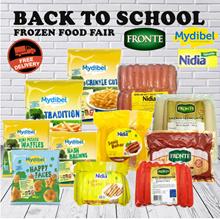 BACK TO SCHOOL FROZEN FOOD FAIR FRONTE/MYDIBEL/NIDIA( FREE SHIPPING JABODETABEK )