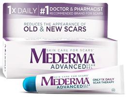 Mederma Advanced Scar Gel 1x Daily 0.7 oz 1.76 oz (20g / 50g)
