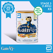 Similac Gain Stage 3 - Milk Formula 1.8kg Buy 3