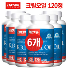 JARROW 6set KRILL OIL 120 SOFTGELS