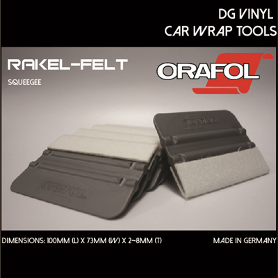 Rakel Voor Stickers.Dg Sticker Orafol Rakel Felt Made In Germany Sticker