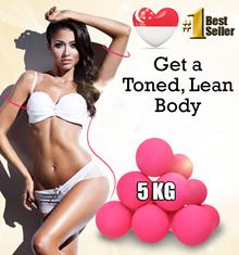 5 KG Mini Dumbbells For Men / Women (5kg dumbbell set) Quality Weights Training Home Gym Exercise