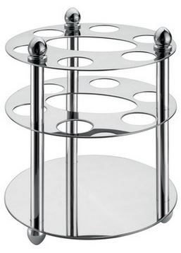 304 Stainless Steel Triple Round Shelf S044❧ Suitable for Kitchen and Bathroom ❧