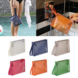 [100% Authentic] BY.FULLDESIGN Coating Mesh Pouch Medium 2 - cosmetic pouch cosmetic organizer