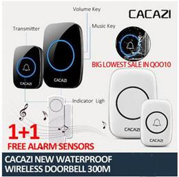 doorbell / Remotely  call  waterproof  wireless  LOWEST$9.5❤CACAZI ❤ New Waterproof Wireless Doorbel