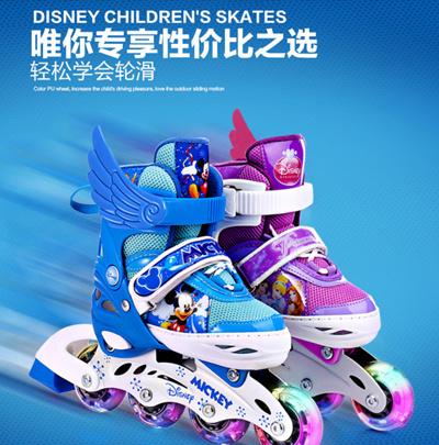 84e2381fc7 COUPON · Disney Children skates full suite skate skate skate shoes for men  and women flashing skates 4