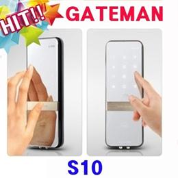Gateman S10 Digital Door lock Scan type keys fingerprint One Touch Doorlock