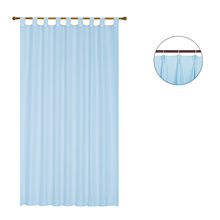 Lawell Waffle curtain 160x170cm -sky blue. 100% polyester. Assorted colour.NEW DESIGN