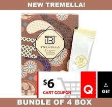 CRAZY $105.4 NETT!! ♥ [BUNDLE OF 4] ♦ *NEW UPGRADED* [TREMELLA-DX ENZYME DRINK] 16 SACHETS/BOX ♦