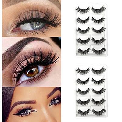 b987fbe69ab Qoo10 - [sb]CerroQreen Eyelashes 10 Pairs Pack of 2, 3D mink lashes ...
