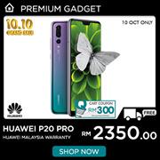[Rm2350 After Rm300 Coupon] Huawei P20 PRO 6GB RAM+128GB ROM (Huawei Malaysia Warranty)