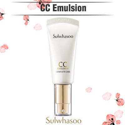 ◆ Sulwhasoo ◆ CC Cream (Emulsion) 35ml / SPF34PA ++ / Korea Cosmetics