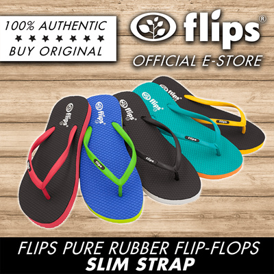 6ab9b9f59cf8 ☆RESTOCK☆SG  1 FLIP-FLOP BRAND☆ Flips™ 100% Rubber Slippers☆SLIM  STRAP☆Non-skid Natural Bestselling  149 sold  Rating  5  Free  S 29.90  S 6.90