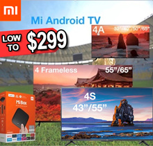 ★ 1 yr warranty  Xiaomi Mi TV 4X/4S/4C/4/4A  32/40/43/49/50/55/65