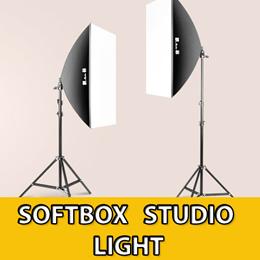 Photography Softbox Studio Light Lighting Kit Photo Equipment Soft Studio Light