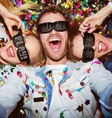CHEMION Smart Bluetooth LED Sun Glasses CHEMION 2 / DJ Mode / Party SunGlasses Item / Free Control w