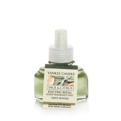 (Yankee Candle) Yankee Candle Sage & Citrus Scent-Plug Air Freshener  Refill, Fresh Scent-1226010