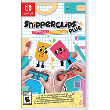 Nintendo Switch Snipperclips Plus: Cut it out together!