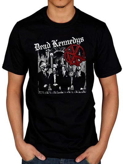 69e1a7c0480 Men s Dead Kennedys Tour T-Shirt Album Frankenchrist Music Bedtime Democracy