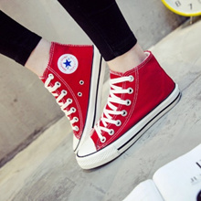 [PRE-ORDER] Men Couple Women High Cut Lacing Up Sneakers Shoes