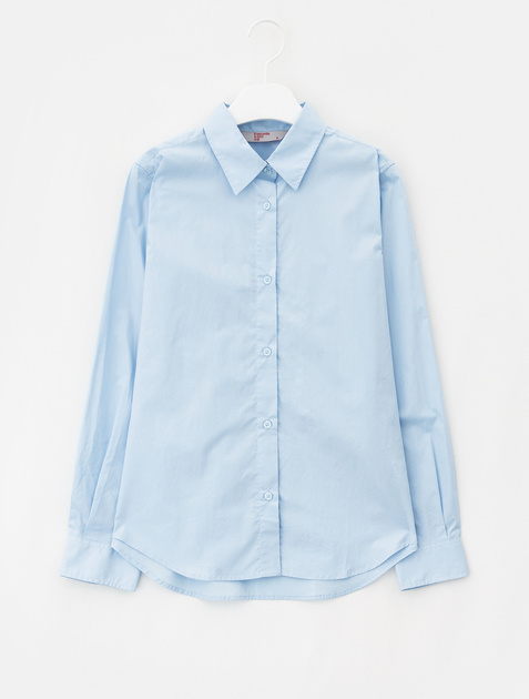 8SECONDS Solid Cotton Shirt - Sky Blue