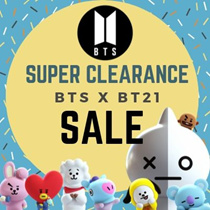 Many BT21 items