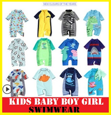 Children swimwear /Swimming Suit /Kids Keep Warm / diving/float/swim wear