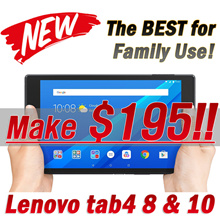 ★MAKE $195!!★ NEW LENOVO Tab4 8 /10 + PLUS Tablet-16GB Quad Core WiFi / Mircro SD Slot 128GB Gaming!