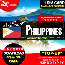 Philippines sim card (Network by Smart) 30days 3GB and unlimited data .Free Roaming