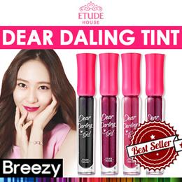 BREEZY ★ [Etude House] Dear Daling Tint / 14 Colors / Lip Makeup / Lip Stick / Lip tint / Gradation