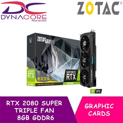 DYNACORE - ZOTAC GAMING GeForce RTX 2080 SUPER TRIPLE FAN 8GB GDDR6 Graphic card