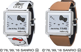 ★DIRECT SHIPPING FROM JAPAN★Epson Sanrio Hello kitty smart canvas watch