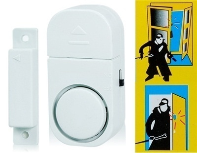 Qoo10 80db Sound Magnetic Doorwindow Entry Alarm Tools Gardening