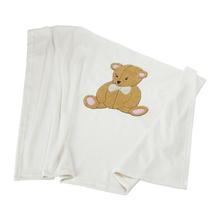 IKEA BRUMBJORN Selimut Bayi Putih Motif Beruang
