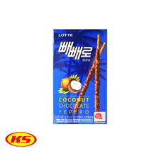 Korea Lotte Pepero Coconut Chocolate Flavour 32g