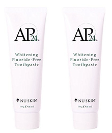 Nu Skin Nuskin AP24 Whitening Fluoride-Free Toothpaste 110g 4oz New Formula. 2 pack