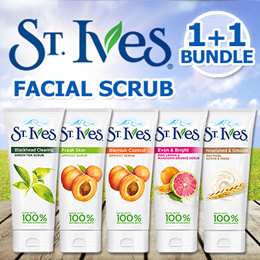 ▲Never Before Price▲1+1 Promo 【St. Ives 】Facial Scrub  170g