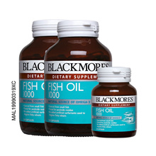 BLACKMORES FISH OIL 1000MG 2X120 S  + 30 S