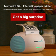 MEMOBIRD New Little Printer Wifi Portable Bluetooth Printing Barcode Wireless Pocket Thermal Printer