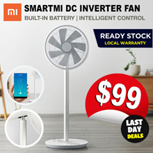 [JULY SPECIAL] ★ Xiaomi Smartmi Fan with Built-in Battery Smart APP Controls and Oscillation Mode