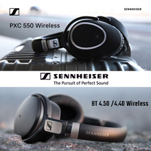 Qoo10 Promo Sennheiser PXC550 HD 4.5 BTNC Wireless Bluetooth Headphones | CX 7.00BT In-Ear Wireless | MOMENTUM In-Ear Wireless Earphone and More. Free Delivery!