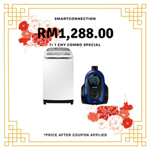 RM1,288.00 After Coupon Applied] Samsung 9KG Washing Machine + VC2100M Canister Vacuum  *ORIGINAL PACKAGING/SEALED* MY Warranty/Malaysia