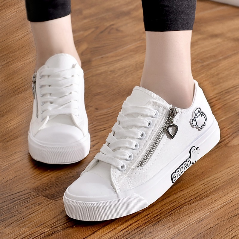 2018 Spring Canvas shoe girl shoes