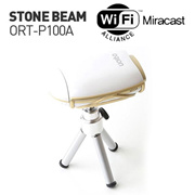 [Orion Stone Beam Projector] ORT-P100A Wireles projector mini  / DLP Portable Projector  / Mira cast  / projector screen / mini projector / pico projector