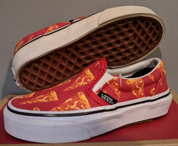 VANS  US 10.5K and 13K  CLASSIC SLIP ON PIZZA KIDS 2IFE LIFESTYLE STREET 85c26edcc