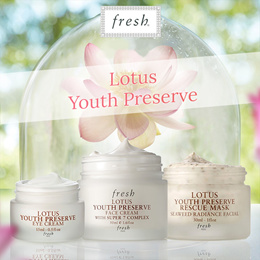 ❀ FRESH LOTUS ❀ Youth Preserve Face Cream/ Eye Cream/ Lotion