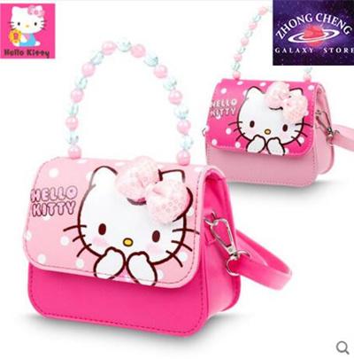 Hello Kitty children bag princess fashion bag girl mini little messenger  bag baby handbag cute e857827cb08bb